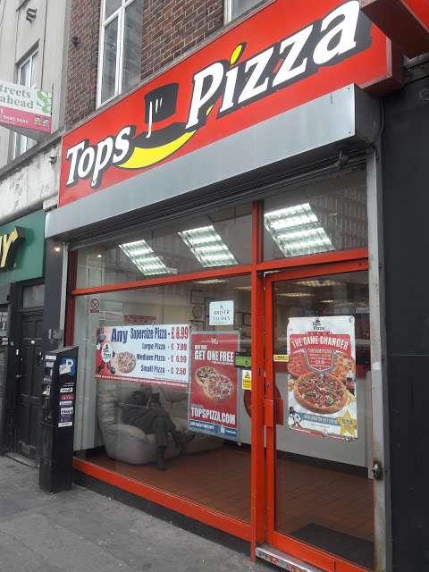 Tops Pizza Restaurant In 216 High Street Croydon En Cr0 1ne